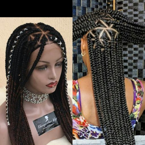 Triangle Box Braid Khennyesther Wigs