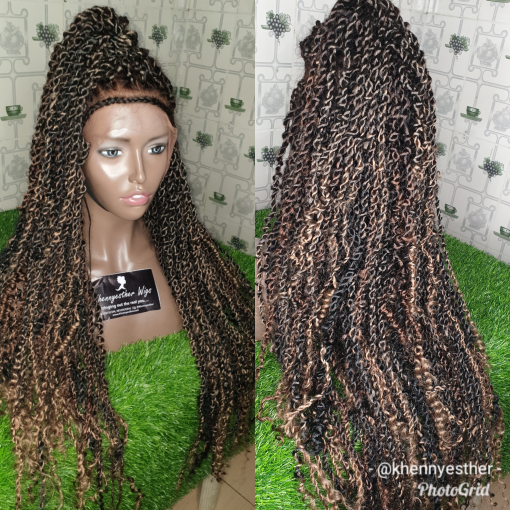 Full Lace Passion Twists Khennyesther Wigs