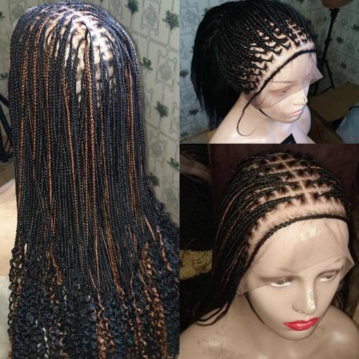Goddness Knotless Box Braid Wig Khennyesther Wigs
